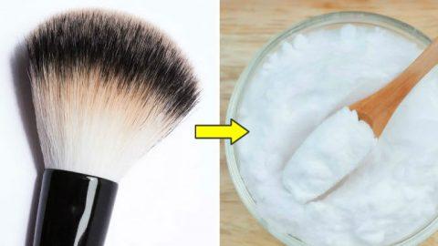Come pulire i pennelli da trucco e farli tornare come nuovi
