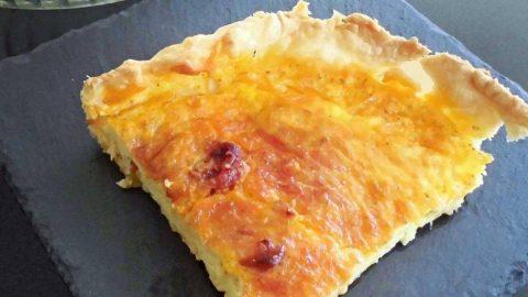 Rustico di patate e fiordilatte, ricetta veloce e filante
