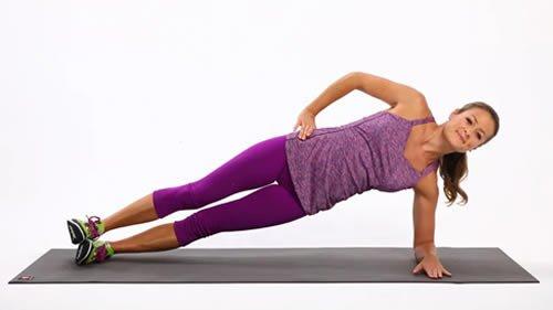 3 tipi di plank per snellire il girovita, tonificare l'addome, le gambe e i glutei col tuo peso